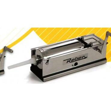 Insaccatrice per salumi Reber tutta inox a 2 velocità da kg 5.