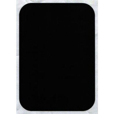 Lavagne in plexiglass nero lucido, spessore mm 10, da scrivere con un pennarello bianco - in omaggio.
