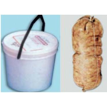 Cresponetti o sottocresponetti di maiale salati