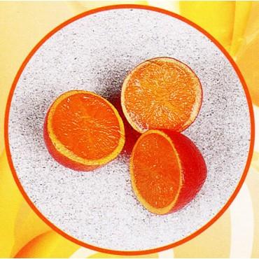 3 mezze arance finte mm 65 (prezzi per 1 confezione da 3 mezze arance)