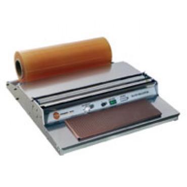 Filmatrice manuale dispenser, per vassoi confezionamento carni e altri prodotti alimentari.