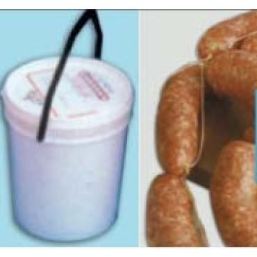Budellina salate Belgio PROMO qualità A, di maiale per salsicce, prezzi per 1 mazzo da mt 35, per macellerie, salumifici e piccole lavorazioni familiari.