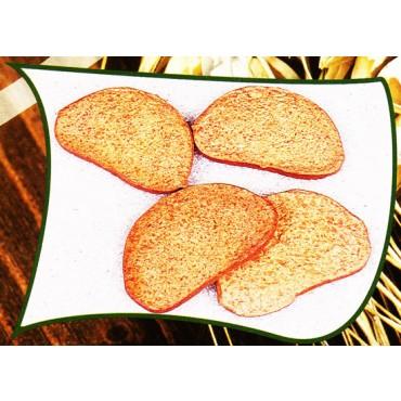 4 fette di pane di segala finte mm 90x40