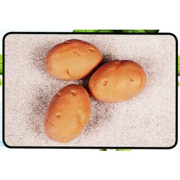 3 patate grandi finte mm 75x105 (prezzi per 1 confezione da 3 patate grandi)