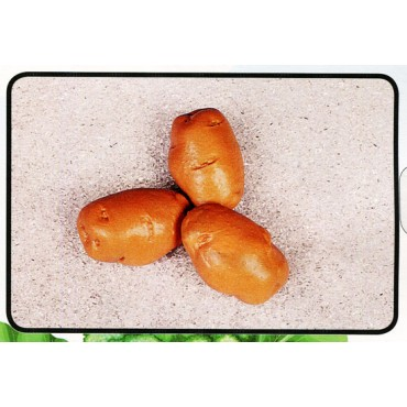 3 patate piccole finte mm 45x75 (prezzi per 1 confezione da 3 patate piccole)