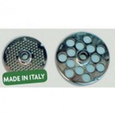 Piastre inox autoaffilanti per tritacarne di ogni tipo bocca 32, per macellerie e supermercati.