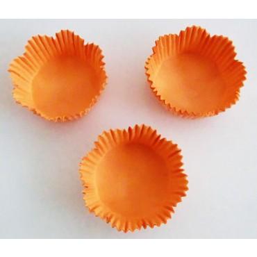 Pirottini o scodellini in carta pesca smerlata diametro mm 45, altezza mm 25, confezioni da pz 2000.