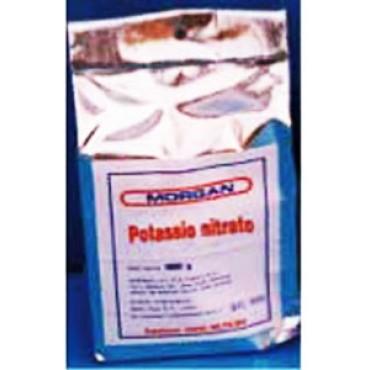POTASSIO NITRATO E252 (SALNITRO), dose consigliata per Kg. 100 di carne: gr. 15 max. Prezzi per Kg 1.