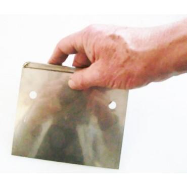 Spatola inox con impugnatura cm 14,5 x h 12