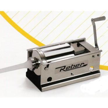 Insaccatrice inox litri 3 a 1 velocità Reber. Prezzo € 106,50