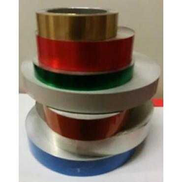 Alluminio in rotoli laccato per lavorazione accessori moda ed abbigliamento, prezzi per kg 1.