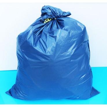Sacchi blu con maniglie NU cm 80x110, confezioni da 5 rotoli da pz 10.