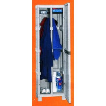 Armadio spogliatoio in plastica modello standard