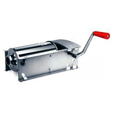 Insaccatrice per salumi mod. Star 5 inox Tre Spade, capacita 5 litri a 2 velocità - Star sausage Filler.