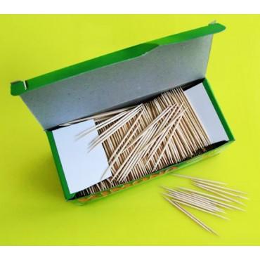 Stuzzicadenti in legno di betulla per ristoranti mm 68, confezioni da pz 2000.