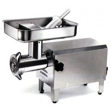 Tritacarne elettrici professionali inox Morganline - Tre spade - Professional electric meat mincers.