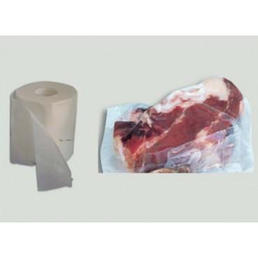 Tela cerata speciale altezza cm 23, per avvolgere alimenti prima di metterli sottovuoto, prezzi per confezioni da mt 93.
