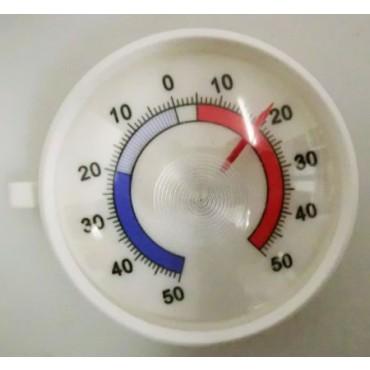 Termometro per banchi frigo di macellerie, supermercati e negozi alimentari, -50 gradi C. + 50 gradi C.
