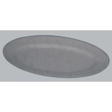 Vassoi ovali metalcrilato ricavati da lastra intera, prezzi cad.